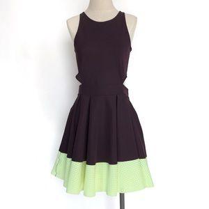 Lululemon Away Dress Black Cherry Clear Mint